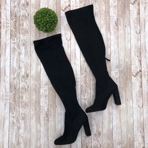 Steve Madden Emotions Over the Knee Suede Boots